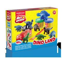 Пластилин на растительной основе Dino Land